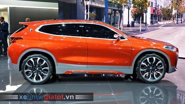 kiểu dáng thân xe BMW X2 mới