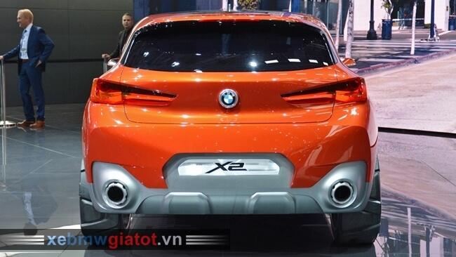đuôi sau xe BMW X2 mới