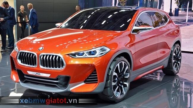BMW X2 Concept mới