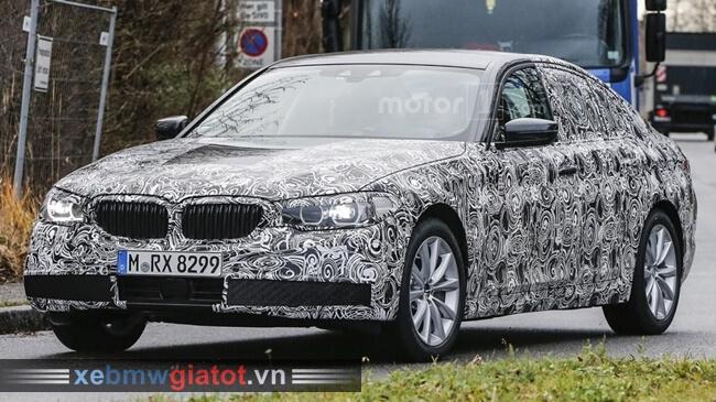 BMW 5 Series mới chạy thử tháng 1/2016