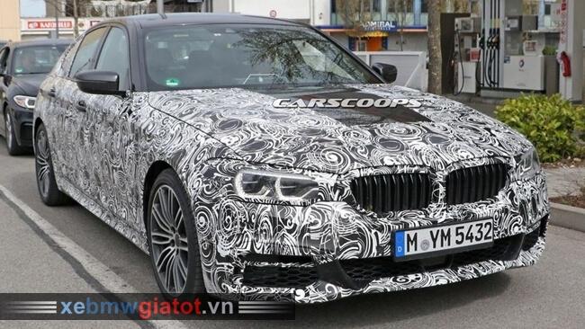 BMW 5 Series thế hệ mới trên đường chạy thử