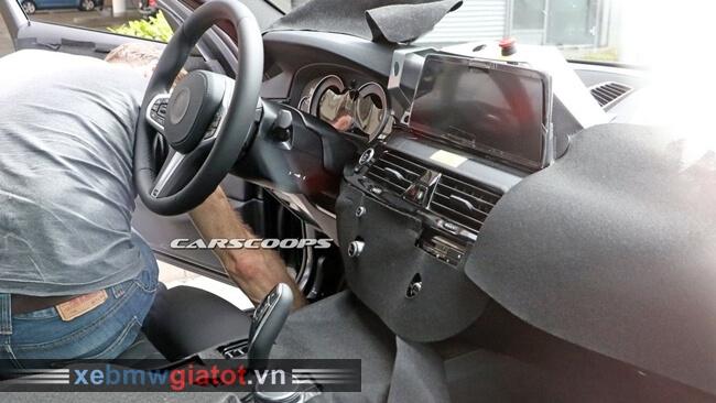 Lộ diện nội thất xe BMW 5 Series mới