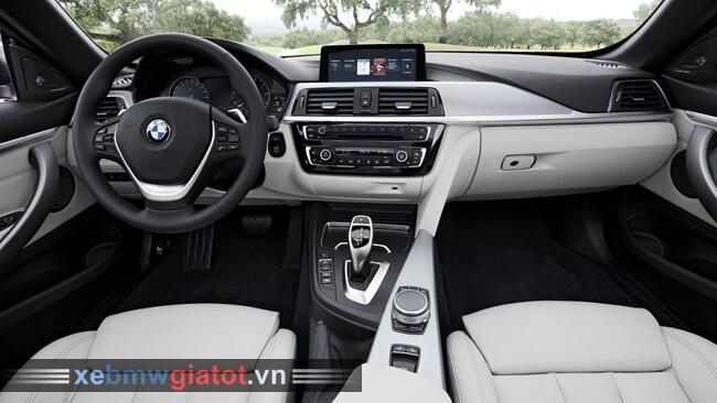 Nội thất xe BMW 4 Series Convertible