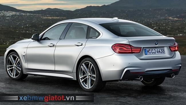 Đuôi xe BMW 4 Series Gran Coupe