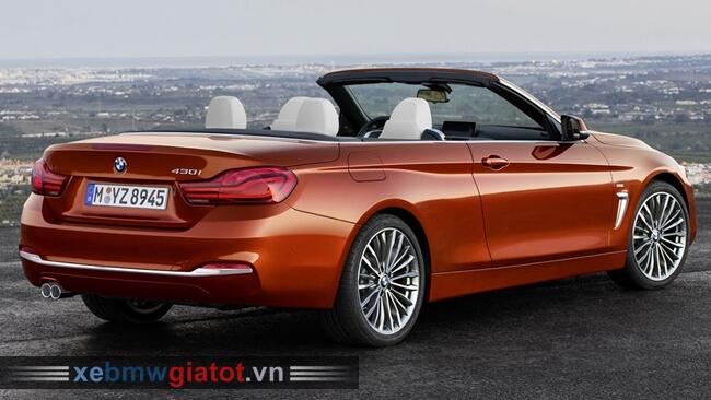 Đuôi xe BMW 4 Series Convertible