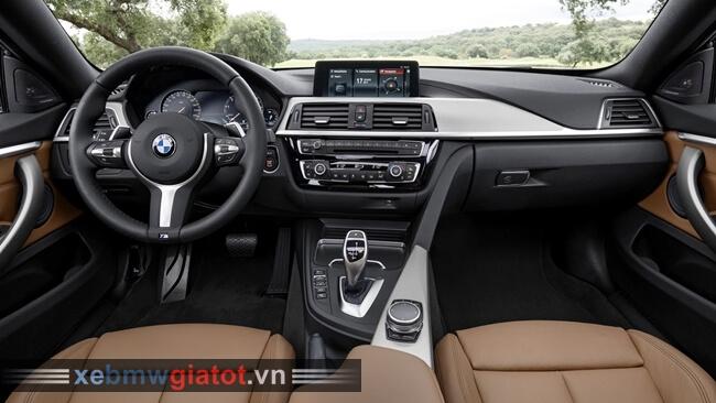 Nội thất xe BMW 4 Series Gran Coupe