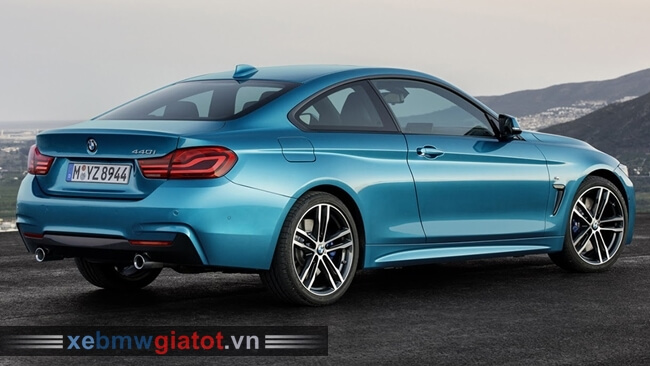 Đuôi xe BMW 4 Series Coupe