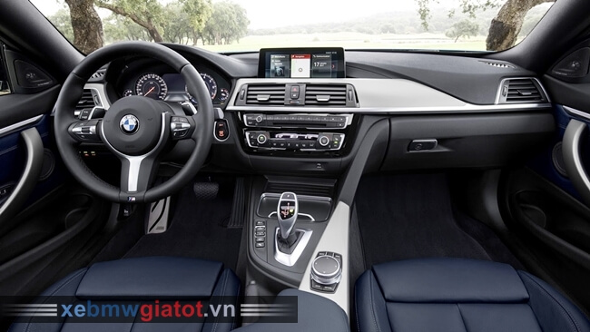 Nội thất xe BMW 4 Series Coupe