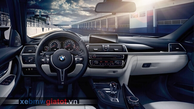 Nội thất xe BMW M3 2018