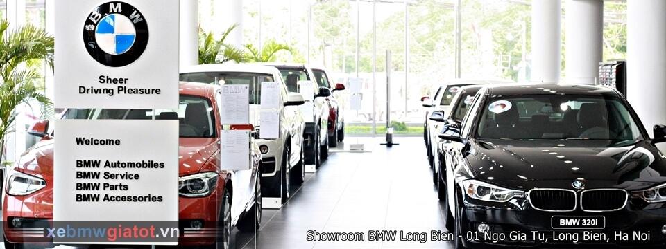 Showroom trưng bày xe BMW Long Biên