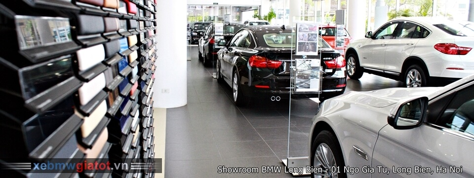Showroom xe BMW Long Biên