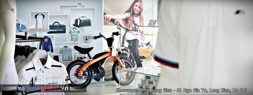 Khu vực Phụ kiện và Phong cách xe BMW Long Biên