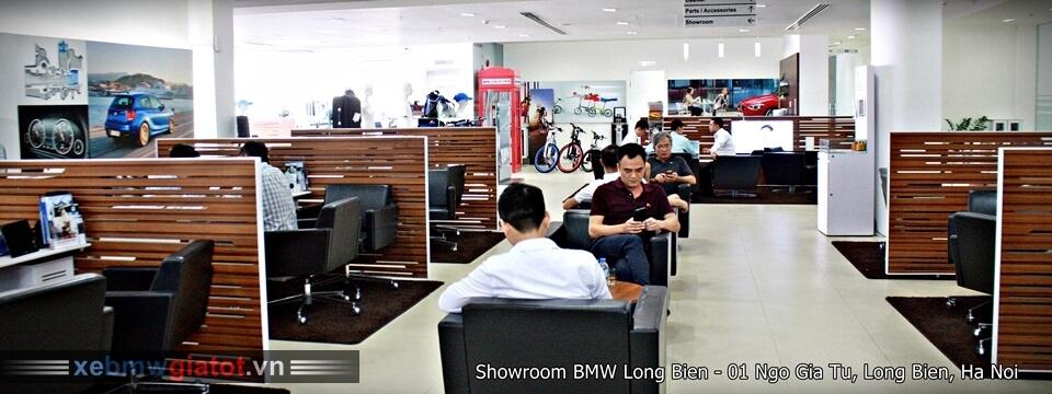 Khu vực phòng chờ khách hàng BMW Long Biên