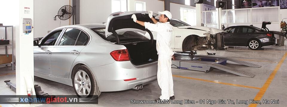 Xưởng bảo dưỡng sửa chưa xe BMW Long Biên