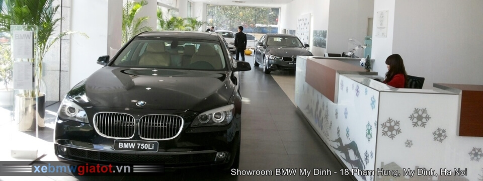 showroom BMW Mỹ Đình