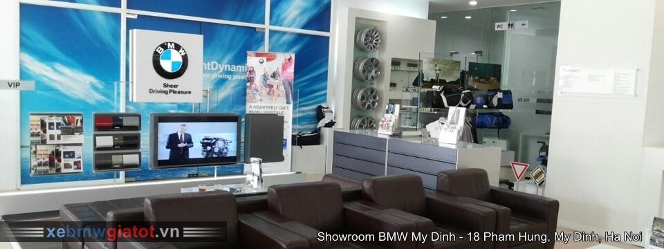 Khu vực dịch vụ phòng chờ khách tại BMW Mỹ Đình