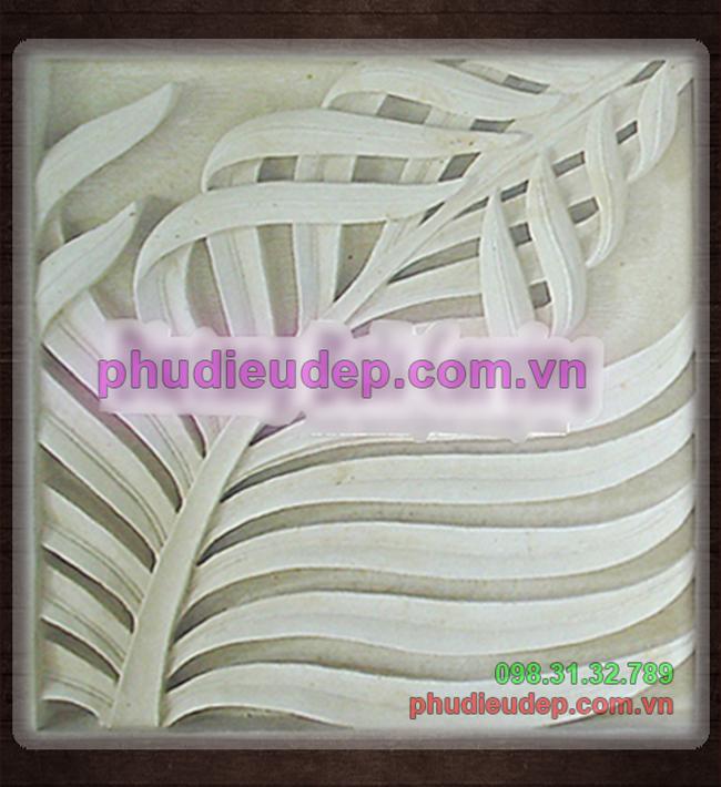 Tranh phù điêu hoa lá composite Hà Nội - tpHCM | Mỹ thuật TN