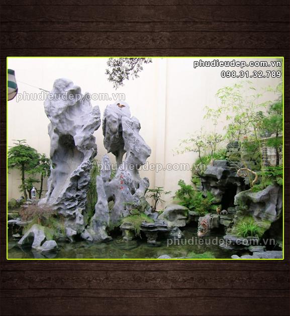 Non bộ (đá nguyên khối) 003