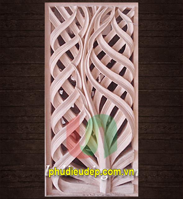 Phù điêu hoa lá 044 Trang trí Nội, ngoại thất | Mỹ thuật TN