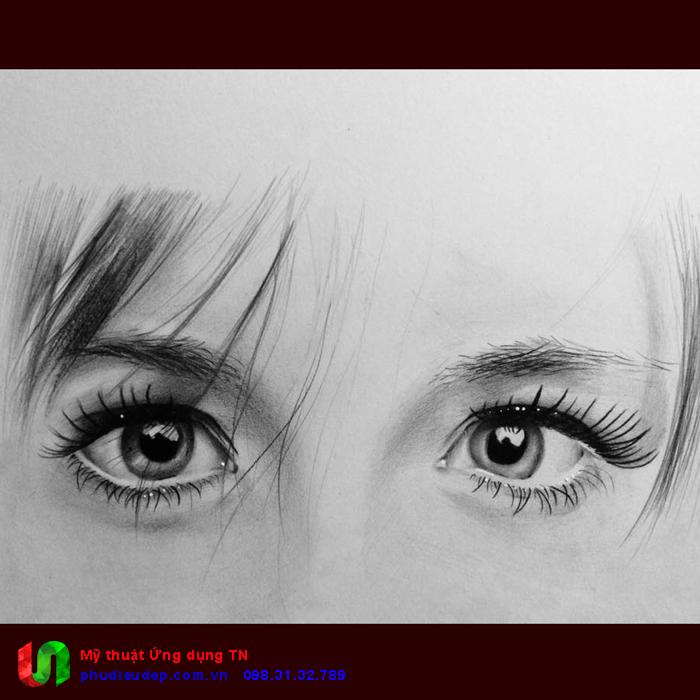 Vẽ tranh chân dung đơn giản