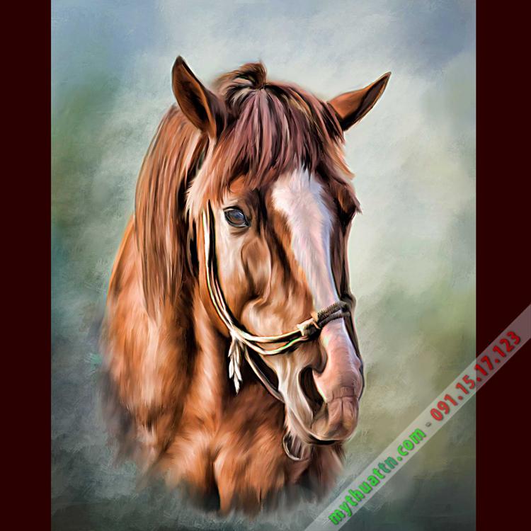 Tranh Ngựa Sơn Dầu Đẹp