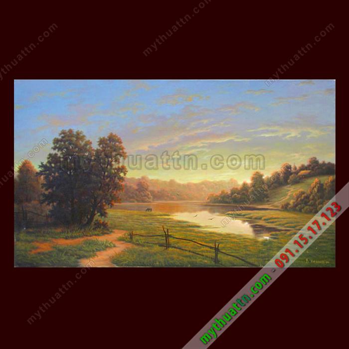 Tranh phong cảnh sơn dầu