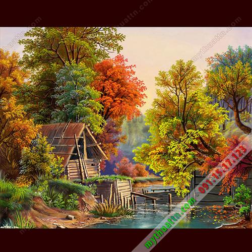 Tranh phong cảnh đẹp lung linh