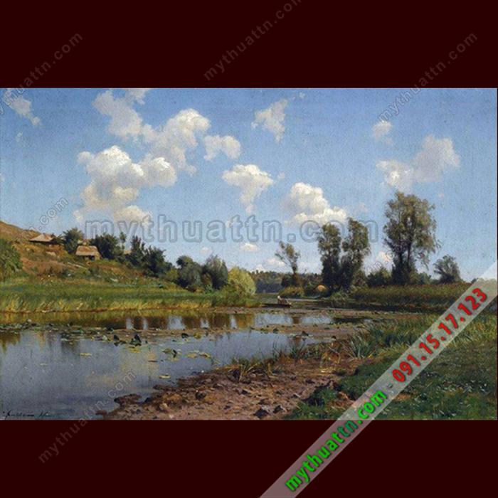 Tranh sơn dầu phong cảnh đẹp