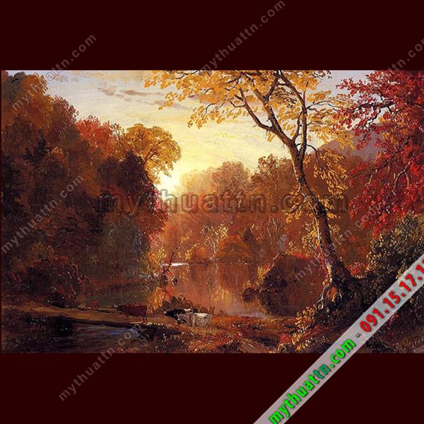 Tranh phong cảnh sơn dầu châu Âu