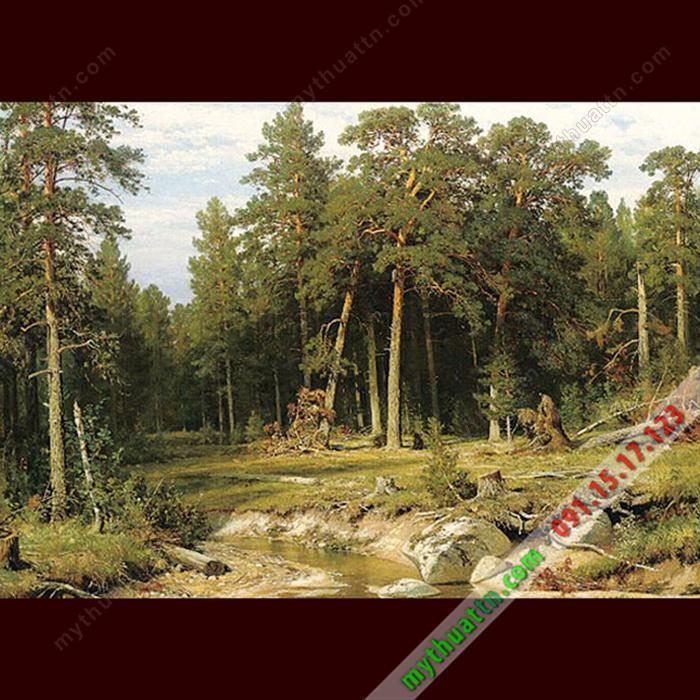 Tranh phong cảnh sơn dầu 065