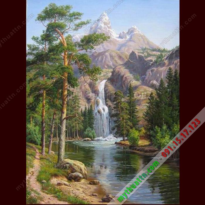 Tranh phong cảnh sơn dầu 066