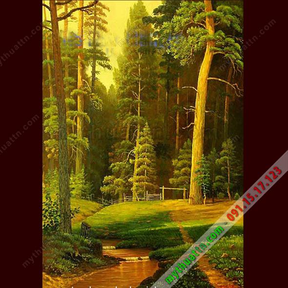 Tranh phong cảnh sơn dầu 067