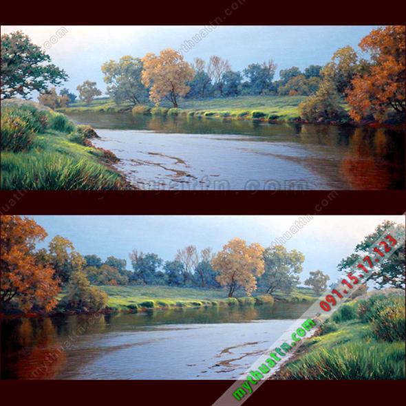 Tranh phong cảnh sơn dầu 069
