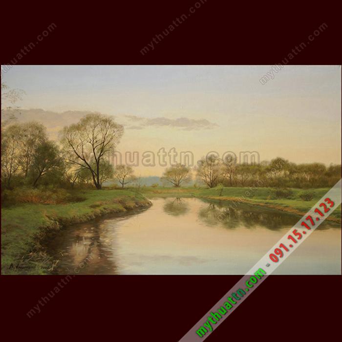 Tranh phong cảnh sơn dầu 071