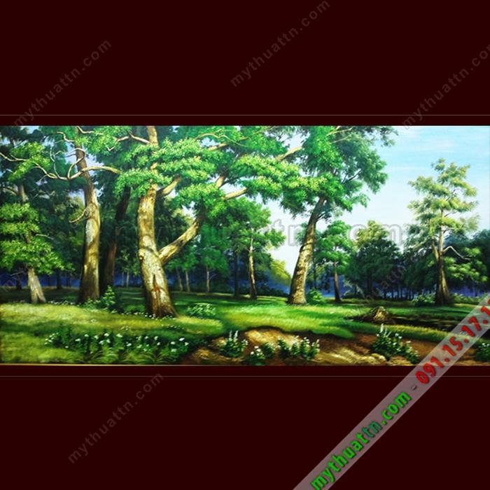 Tranh phong cảnh sơn dầu đẹp