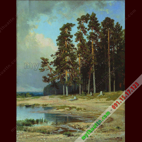 Tranh phong cảnh sơn dầu 075