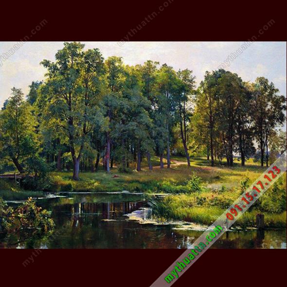 Tranh phong cảnh sơn dầu 077