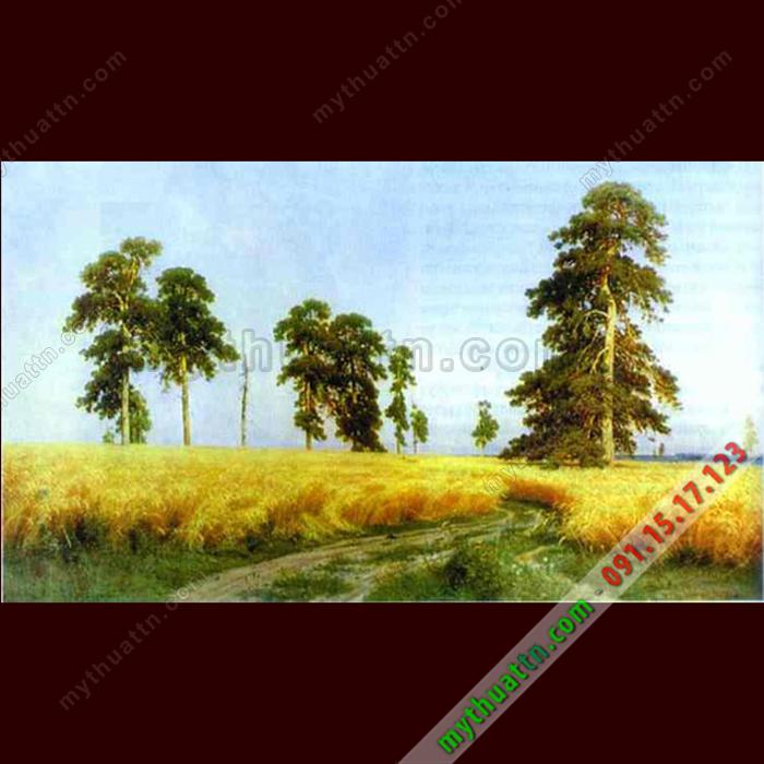 Tranh phong cảnh sơn dầu 078
