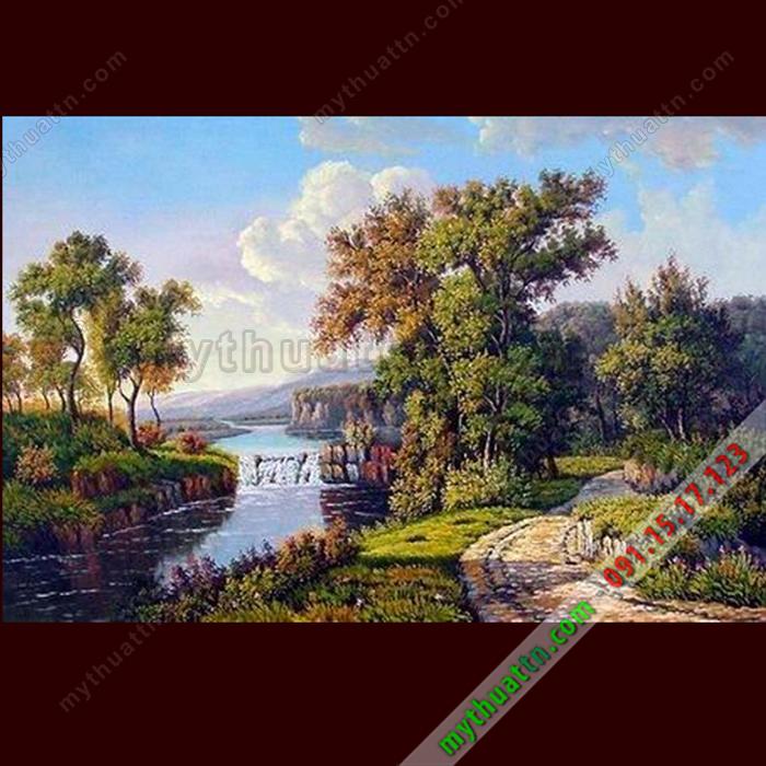 Tranh phong cảnh sơn dầu 080