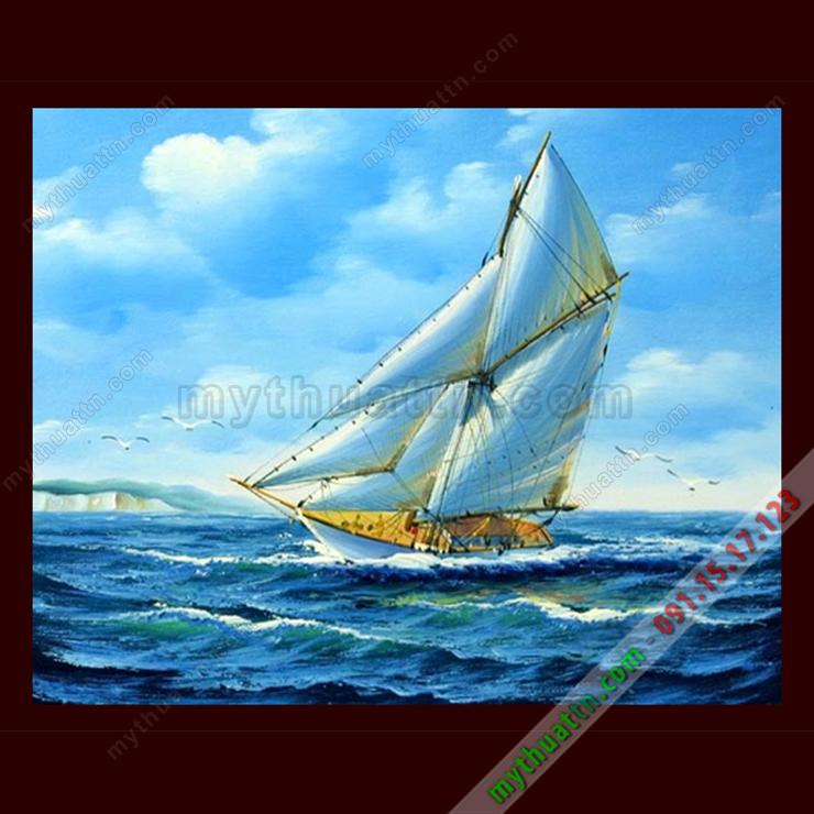 Tranh Thuyền và Biển