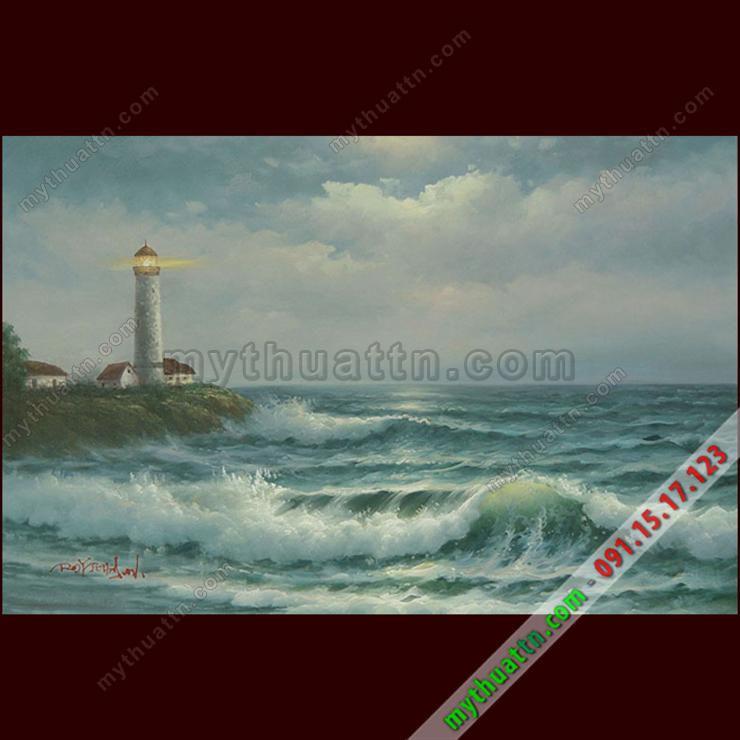 Tranh sơn dầu Ngọn Hải Đăng 2