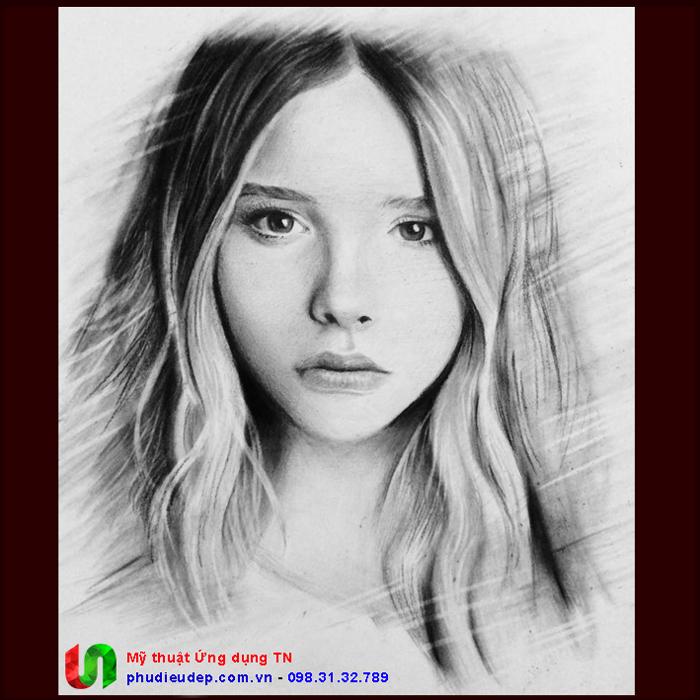 Vẽ chân dung giá rẻ tphcm