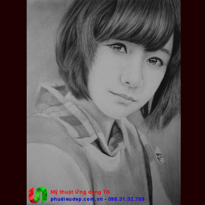 Vẽ chân dung chì 0010