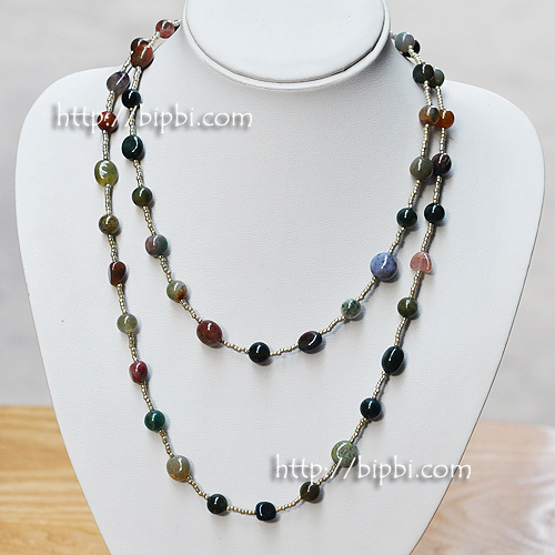 NE006 - Handmade gemstone necklace