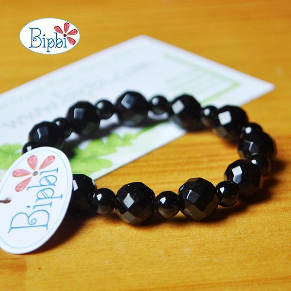 BR004 - Handmade black agate