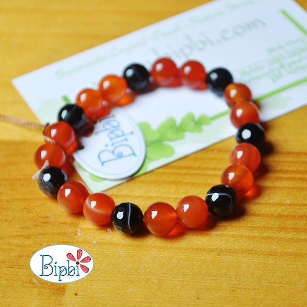 BR007 - Handmade agate bracelet