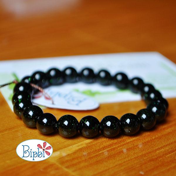 BR011 - Green goldsand bracelet