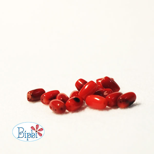 ST009 - 6mm red coral