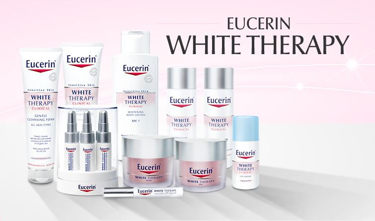 Kem dưỡng trắng sáng da ban đêm Eucerin White Therapy Night Fluid 30ml chứa B-Resorcinol & Glycyrrhetinic - chuyên dùng trị các vết thâm , đốm đen cho làn da trắng sáng thấy rõ.  1. Công dụng  Chứa Dexpanthenol giúp đẩy nhanh quá trình tái tạo da suốt đêm cho làn da khỏe mạnh và tươi tắn . Được chứng minh với phụ nữ Châu Á về khả năng làm giảm đốm đen, vết thâm thấy rõ chỉ trong 4 tuần .  2. Loại da Dành cho da hỗn hợp , da nhờn , da nhạy cảm   3. Công dụng Phù hợp cho da thường đến da khô. Sử dụng một lượng nhỏ lên mặt, cổ và ngực. Mát xa nhẹ lên da, tránh sản phẩm tiếp xúc vào mắt.  4. Hướng dẫn hiệu quả  Phù hợp cho da thường đến da khô.  Sử dụng một lượng nhỏ lên mặt, cổ và ngực.  Mát xa nhẹ lên da, tránh sản phẩm tiếp xúc vào mắt.  Thể tích thực: 30ml - 50ml Bảo quản: Bảo quản nơi khô ráo, tránh nhiệt độ cao và ánh nắng trực tiếp.  Xuất xứ thương hiệu: Sản phẩm của BDF AG, Hamburg (Đức) Nhập khẩu bởi: Công ty Beiersdorf Việt Nam Phân phối bởi: Công Ty DKSH Việt Nam  Kem dưỡng trắng sáng da ban đêm Eucerin White Therapy Night Fluid 50ml