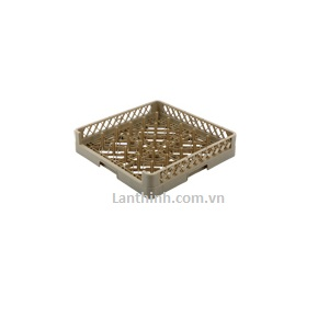 25-Compartment Open Plate & Tray Rack